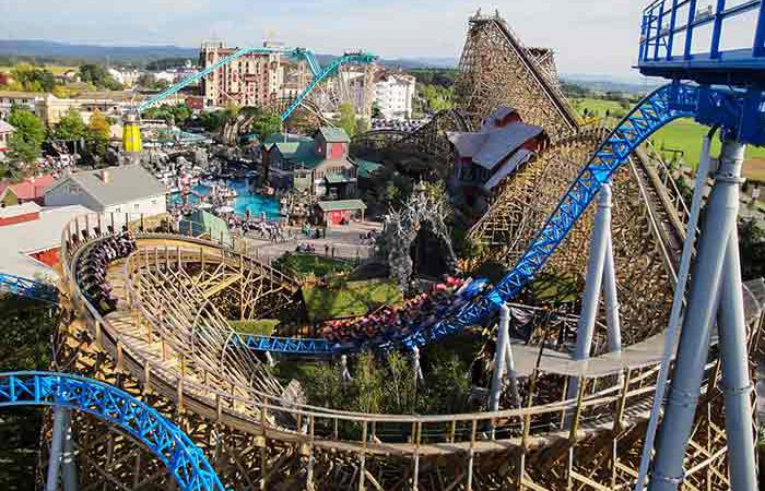 Top 10 beste attracties Europapark