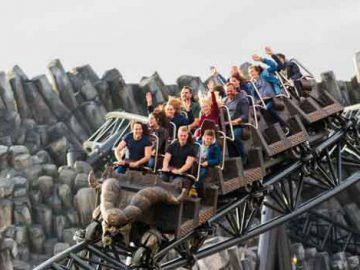 Top 10 attracties Phantasialand