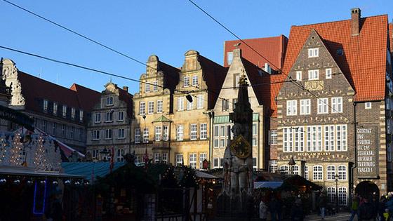 Inwoners Bremen Duitsland