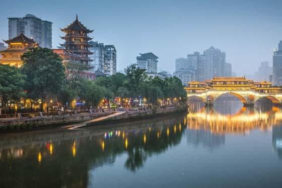 Chengdu Chinese stad