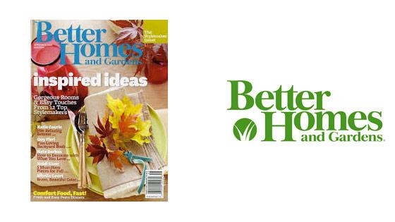 Better Homes tijdschrift